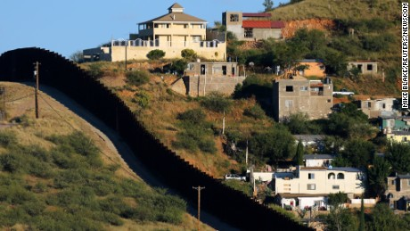 The border fence separates two sides of Nogales: Nogales, Mexico, on the right and Nogales, Arizona, on the left. In 2016, US Border Protection says it had 17,026 out of 19,828 agents posted along the Southwest border.