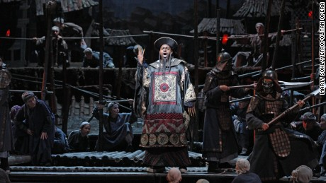 "Ryan Speedo Green performed as Mandarin in Puccini's ""Turandot"" at The Metropolitan Opera during the 2012-13 season."