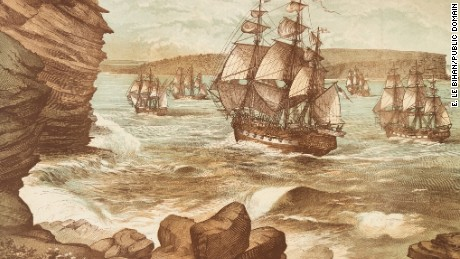 The First Fleet arrived in Australia on January 26, 1788.