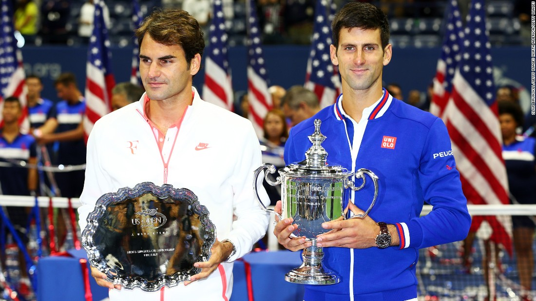 On that day, Serb Novak Djokovic overcame Federer 6-4 5-7 6-4 6-4 to win his 10th major title.