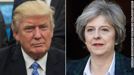 Friendliness with Trump will give Theresa May a European headache
