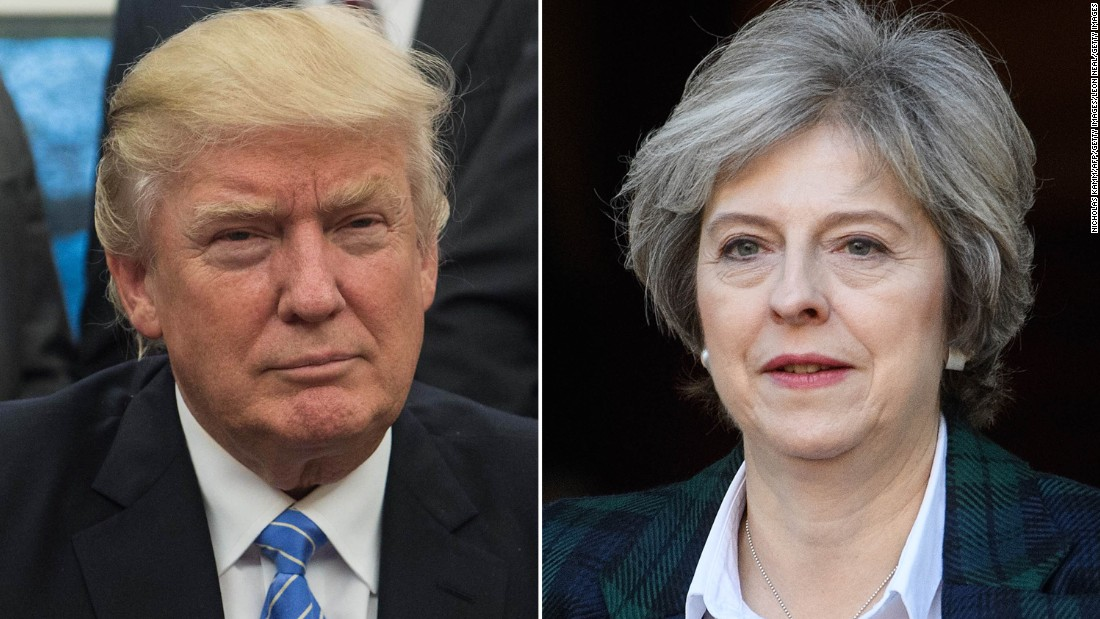 Theresa May to tell Republicans US, UK can lead the world