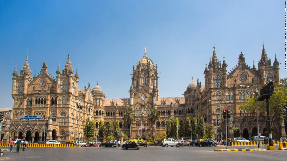 <strong>Chhatrapati Shivaji Terminus, Mumbai:</strong> A UNESCO World Heritage site, the Chhatrapati Shivaji Terminus is Mumbai's main railway station. First opened in 1888, it's considered a perfect example of Victorian Gothic Revival architecture.