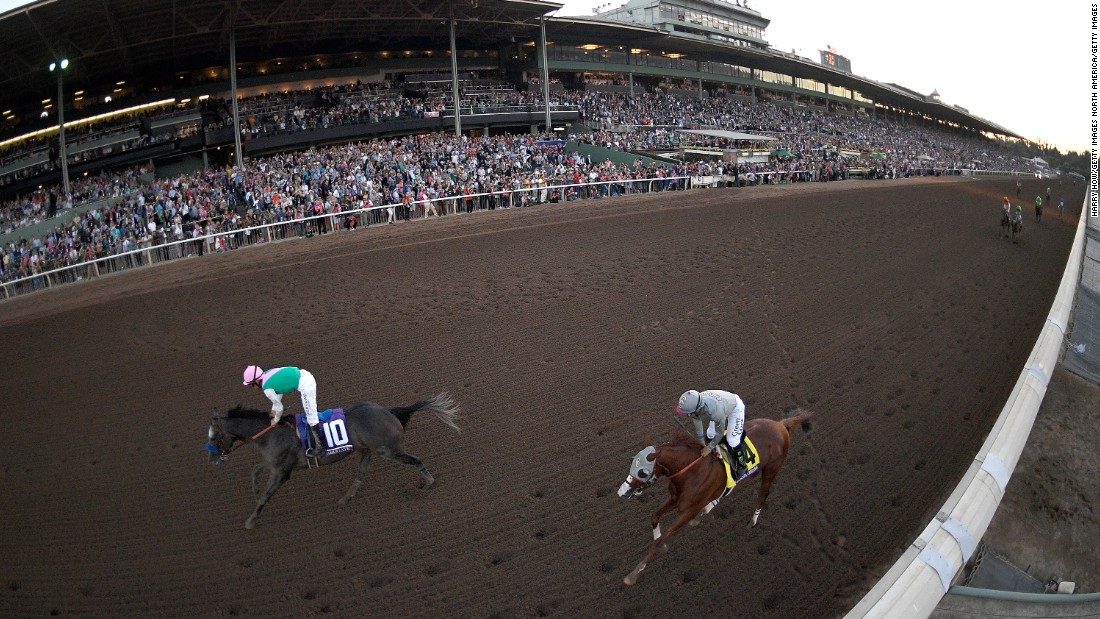 "Arrogate -- named <a href=""http://edition.cnn.com/2017/01/24/sport/arrogate-longines-worlds-best-racehorse-2016/index.html"">World's Best Racehorse in 2016</a> -- was victorious at the Breeders' Cup Classic, held at the Stronach Group-owned Santa Anita Park."