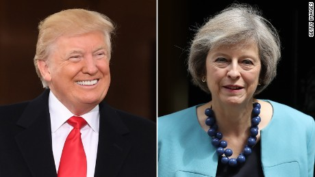 Theresa May in trouble over Trump's UK state visit invite