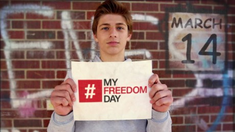 It's #MyFreedomDay: All over the world, students are fighting slavery