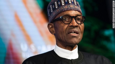 Muhammadu Buhari returned to Nigeria after nearly two months away.