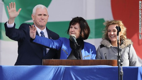 The public is at odds with Karen Pence's new school's policy on homosexuality