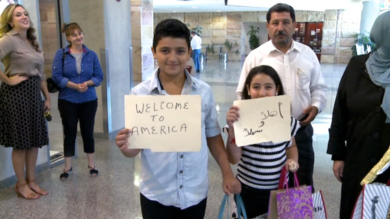 Syrian Christian immigrants turned back at airport - CNN