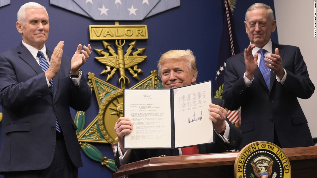 New Executive Order On Travel Ban