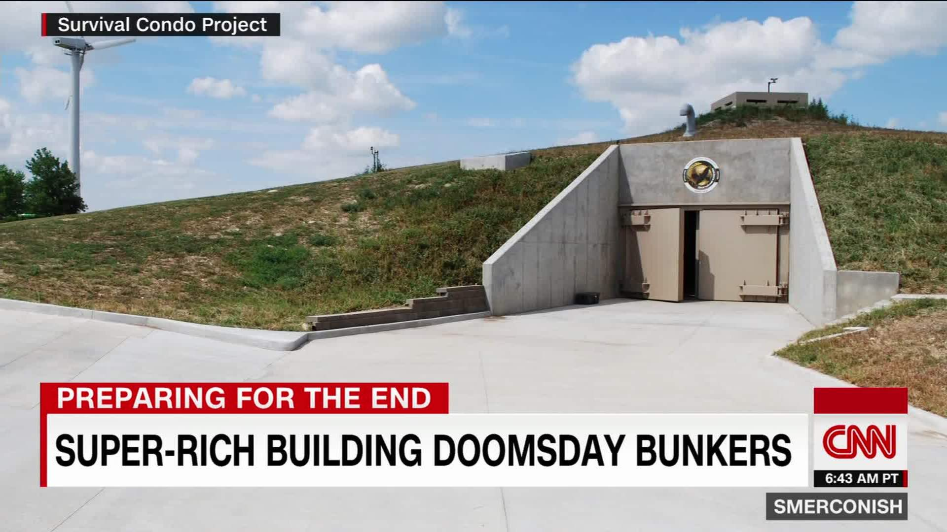 Luxury doomsday bunkers: How the mega-rich are preparing for the
