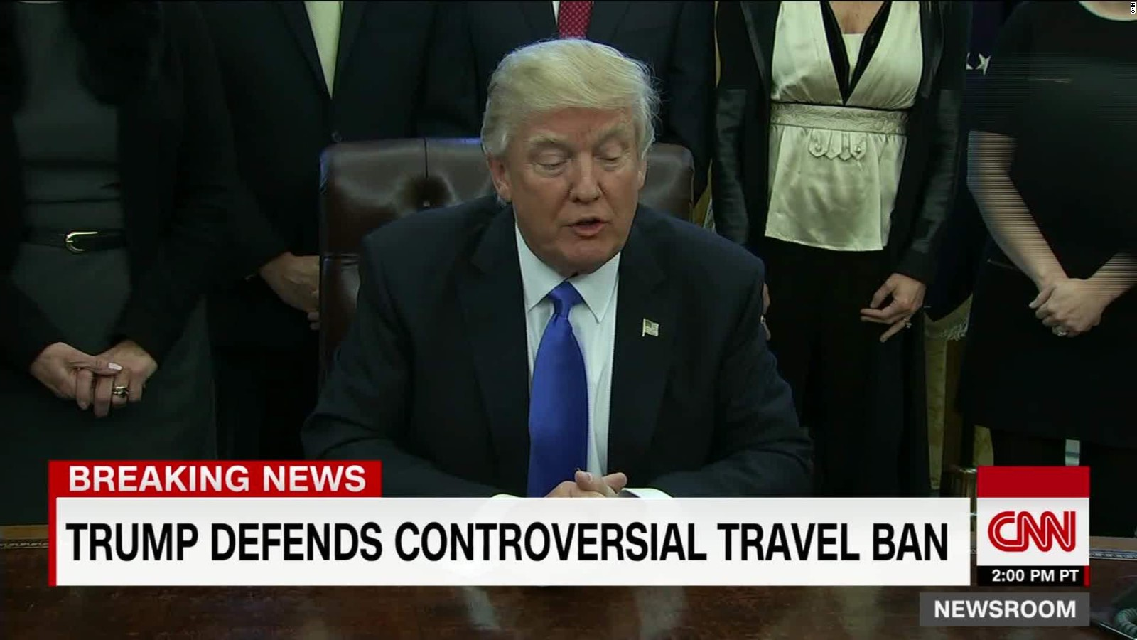 inside the confusion of the trump executive order and travel ban cnnpolitics