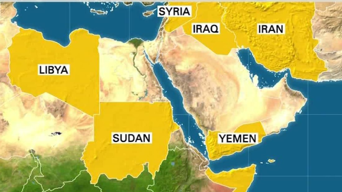 The Seven Countries Banned By Trump CNN Video - The 7 safest places to travel in the middle east