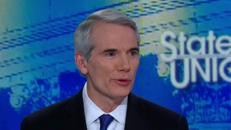 GOP's Portman jabs Trump's immigration order