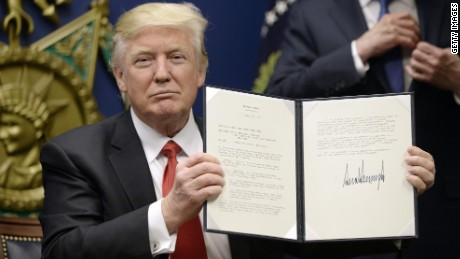 What Trump said about travel ban is false