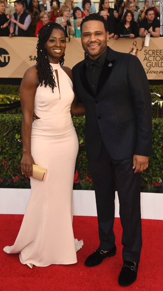 Alvina Stewart and Anthony Anderson