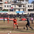 aleppo football match action