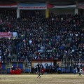 aleppo football crowd watches