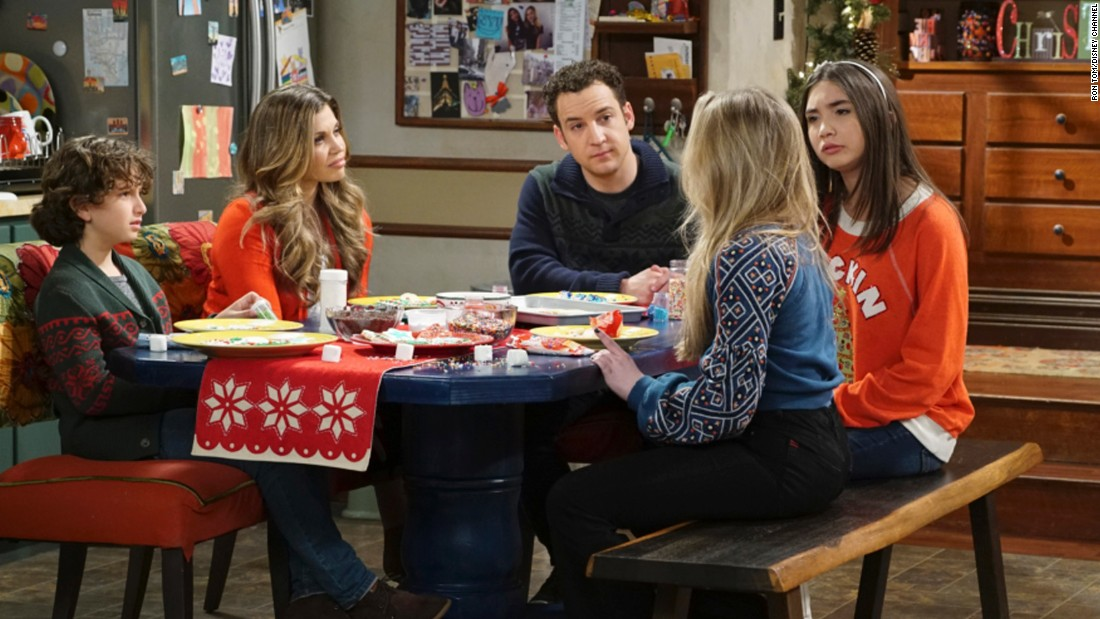 "<strong>""Girl Meets World"" season 3</strong>: August Maturo, Danielle Fishel, Ben Savage, and Rowan Blanchard star in this series about the life of the daughter of two characters from the hit '90s show ""Boy Meets World."" <strong>(Netflix) </strong>"