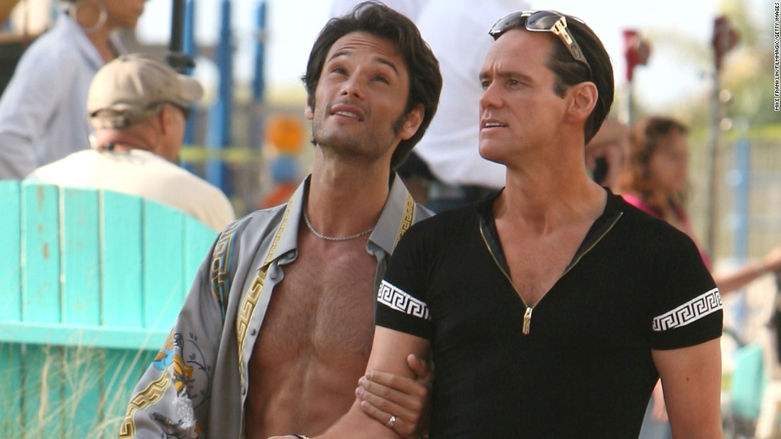 "<strong>""I Love You Phillip Morris""</strong> :  Rodrigo Santoro and Jim Carrey star in this drama about a con man who finds love in prison.<strong> (Hulu) </strong>"