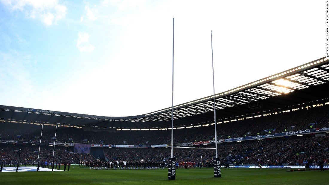 The Edinburgh ground has a capacity of 67,130 -- the largest in Scotland. It opened in 1925, when Scotland beat England to win its first Five Nations title.