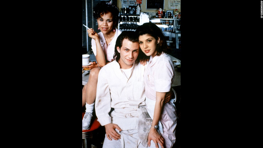 "<strong>""Untamed Heart.""</strong> : Rosie Perez, Christian Slater and Marisa Tomei star in this romantic drama about a shy guy who finds love with a beauty school student. <strong>(Hulu) </strong>"