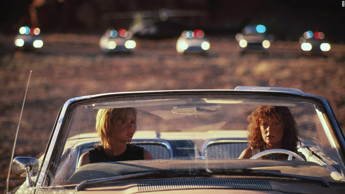 "<strong>""Thelma and Louise""</strong> : Geena Davis and Susan Sarandon set the standard for women buddy movies with this film about a pair who embark on an epic road trip. <strong>(Amazon Prime, Hulu)</strong>"