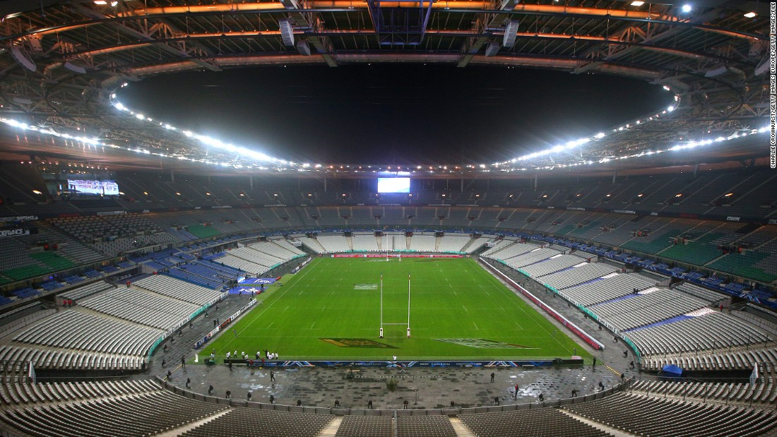 The 80,000-capacity ground, north of Paris in Saint-Denis, is the sixth largest in Europe. Also the host of soccer's 1998 World Cup, it will continue to host both sports after new French Rugby Federation president Bernard Laporte canceled his predecessor's plan to build a new $620 million stadium in Ris-Orangis, 35 km from the capital.