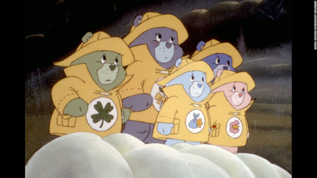"<strong>""The Care Bears Movie""</strong> : The bears watch over a pair of siblings and have to deal with an evil wizard in this animated film. <strong>(Hulu) </strong>"