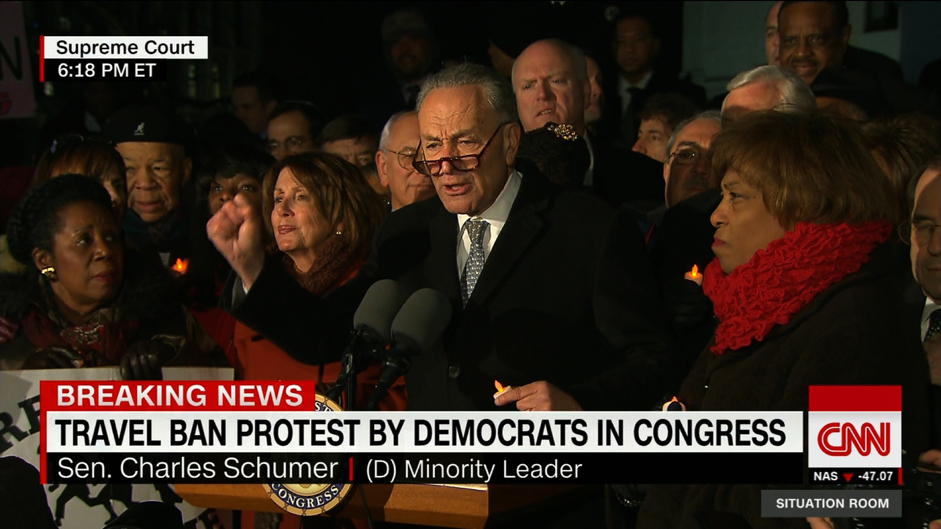 "Schumer Sessions ""wrong person for the job"" CNN Video"