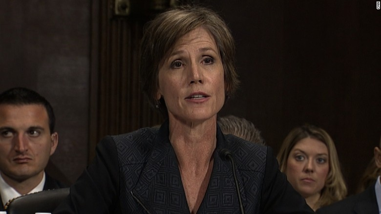 Sally Yates to testify on Flynn's Russia ties
