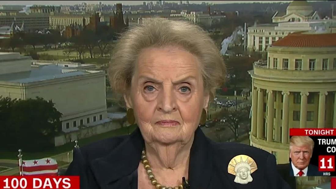 Madeleine Albright: Trump's travel ban is 'flat anti-American'