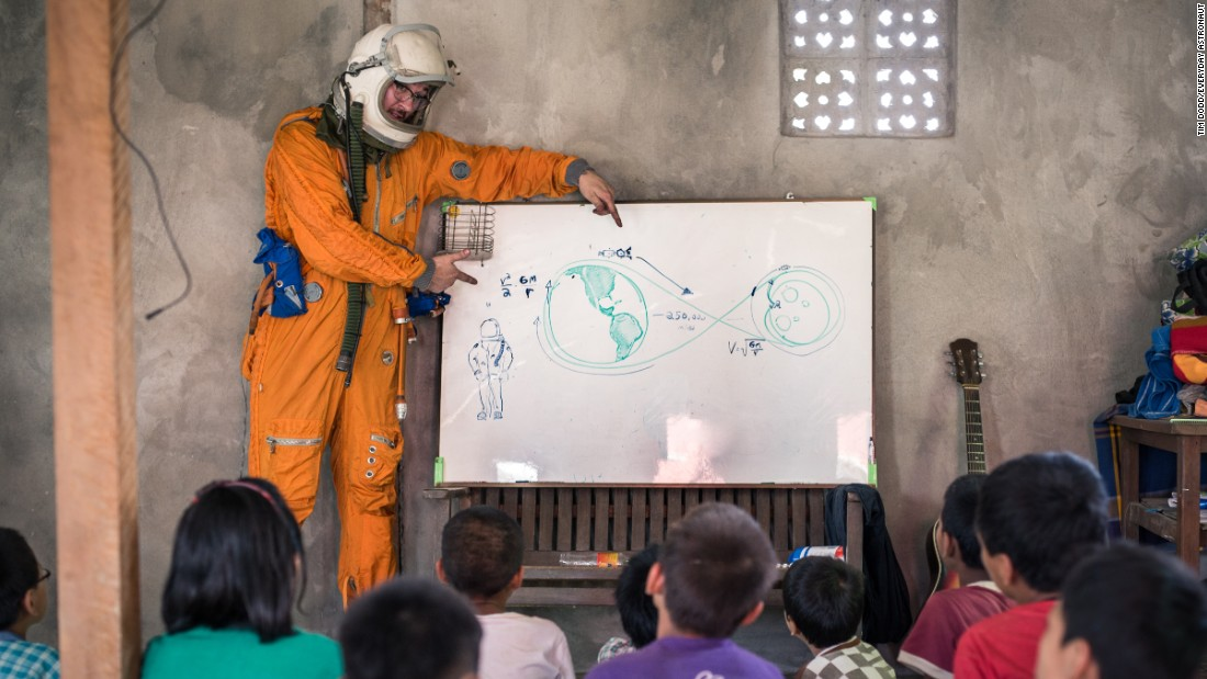 The Everyday Astronaut visited Myanmar in 2015, where he had the chance to teach children about space for two weeks.