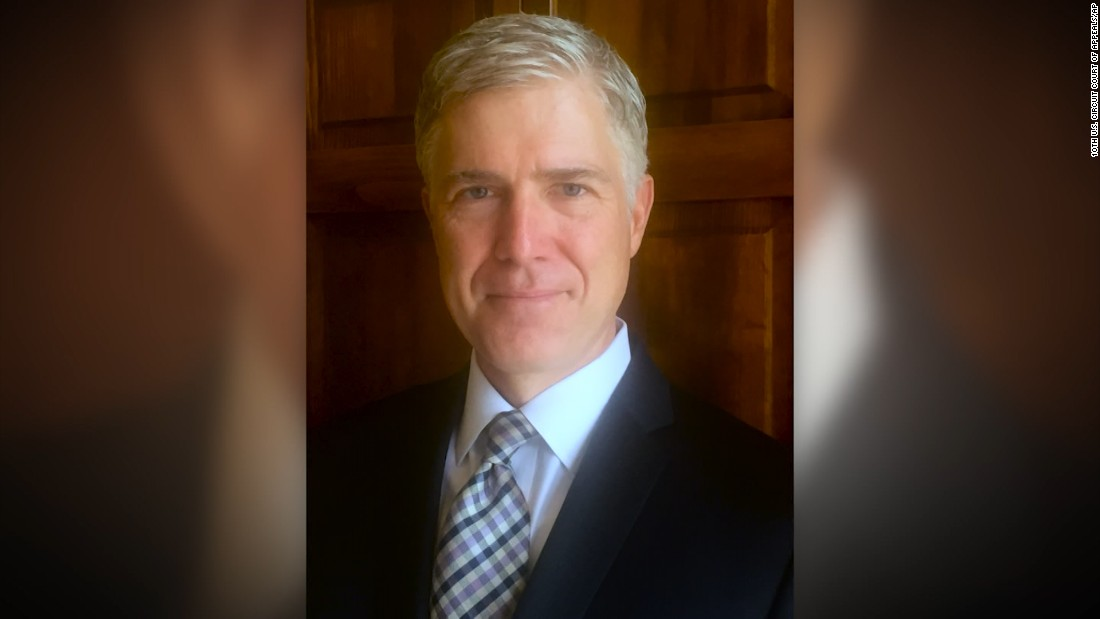 Neil Gorsuch on the issues