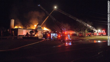 The Victoria Islamic Center was destroyed in a fire over the weekend.