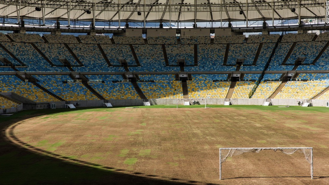 Rio 39 S Iconic Maracana Becomes 39 Ghost 39 Stadium Cnn