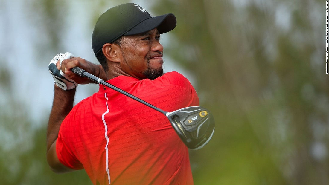 Woods made a much-anticipated return to golf in December 2016, showing signs of promise with the highest number of birdies in the field -- 24 -- but he also made a number of costly errors to finish third from last in the 18-man event.