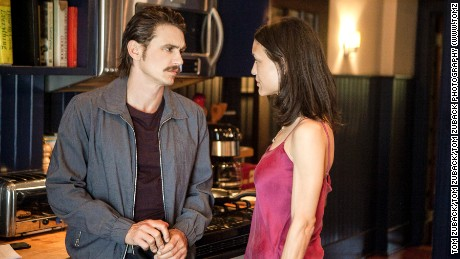 James Franco, Julia Jones in 'High School Lover'