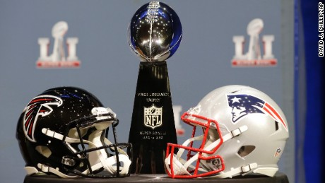 Patriots and Falcons set for Super Bowl showdown