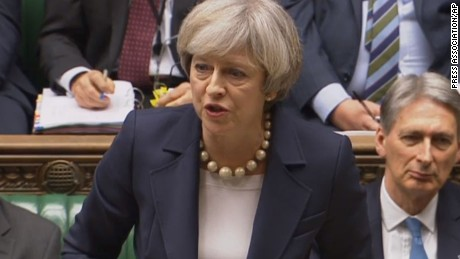 British Prime Minister Theresa May has promised to publish a full Brexit plan on Thursday.