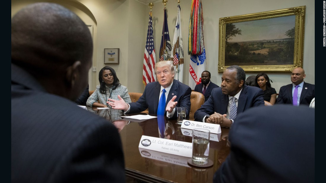 In his own words: Trump on African Americans