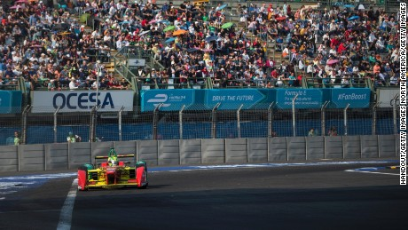 Esteban Gutierrez will make his Formula E debut at the Mexico ePrix, one of 2016's most popular events