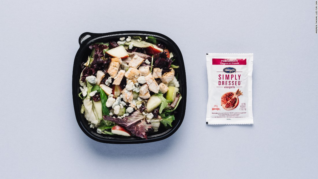 Looking to avoid gluten-containing ingredients? Try the apple pecan chicken salad with apples, cranberries, pecans and crumbled blue cheese, and go with light balsamic vinaigrette dressing. Just remember to omit the croutons.<br />