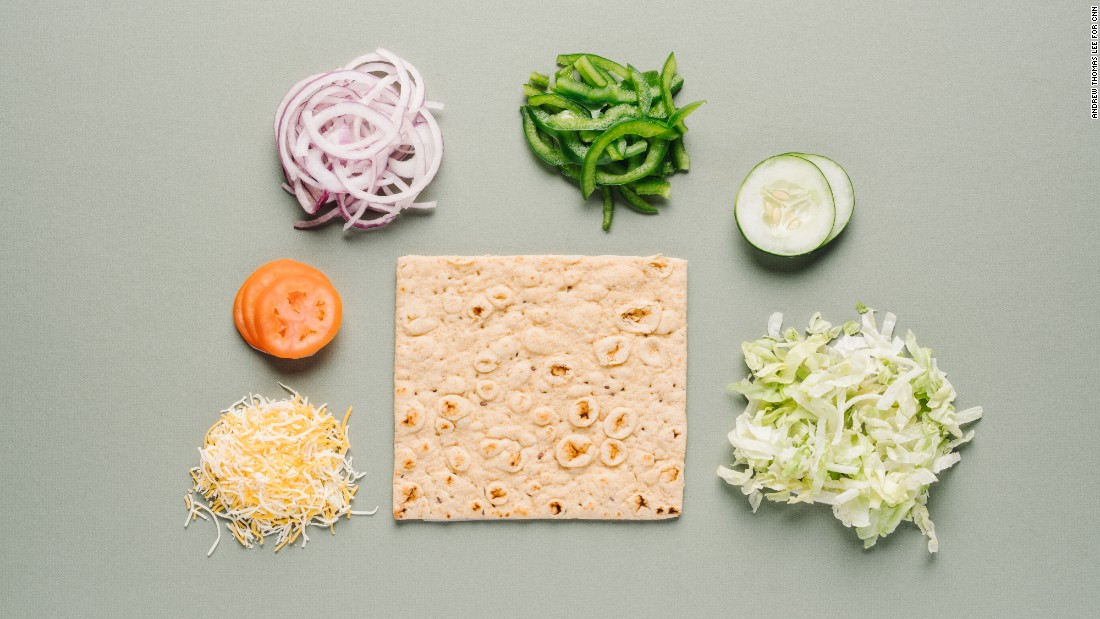 At Subway, an ordinary Veggie Delite sub can be upgraded by ordering it on multigrain flatbread, which is rich in fiber and whole grains. Ask for it to be toasted with shredded Monterey cheddar.