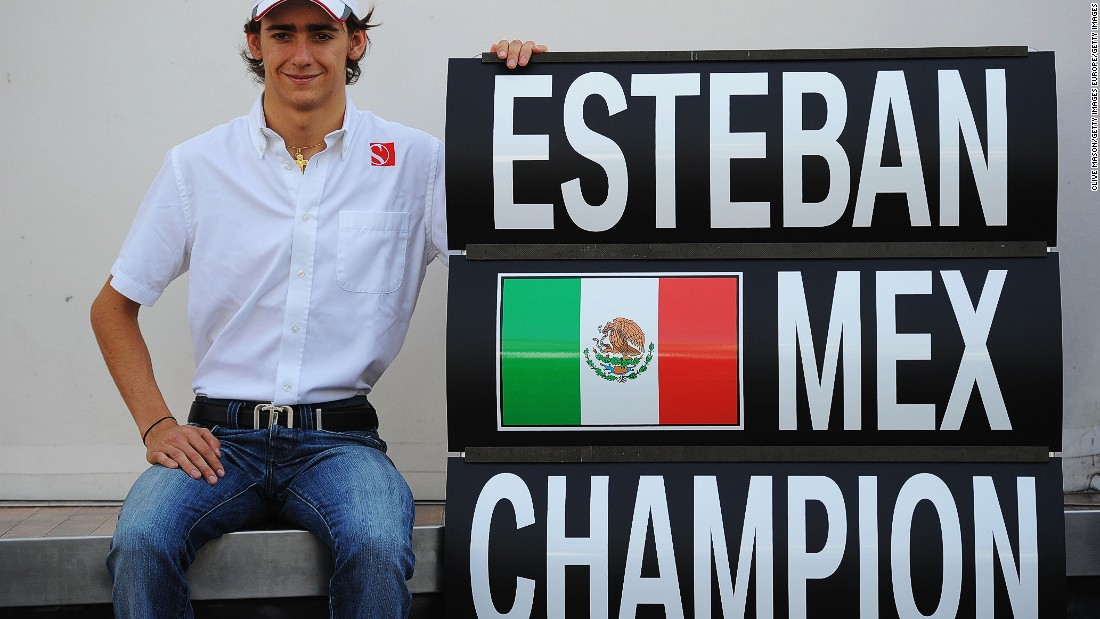 Gutierrez announced himself as a potential talent by winning the GP3 title -- one of Formula One's junior feeder series -- in 2010.