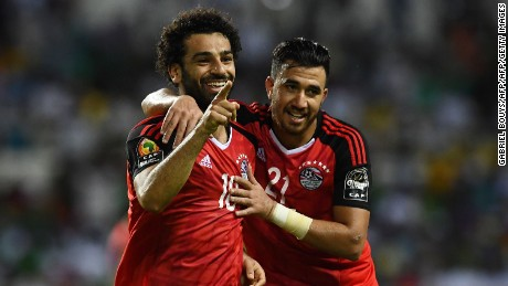 Salah inspired Egypt to victory in the 2017 African Cup of Nations but could not pull off a repeat on home soil.