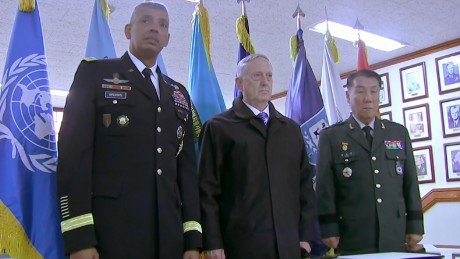 US defense secretary arrives in South Korea