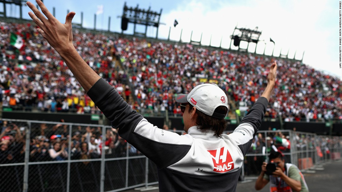 "There were happier times for the Mexican when he lined up for his home race in Mexico City. ""You really feel like a superstar,"" says Gutierrez of the amazing experience in front of an adoring crowd."