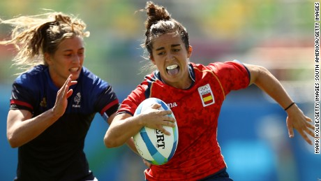 Sydney Sevens: Love at first sight for Spanish rugby star Patricia Garcia