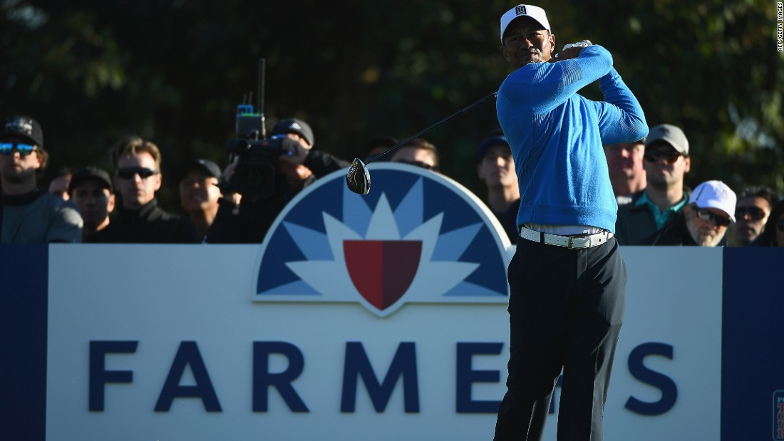 Woods missed the cut on his return to action in last month's Farmers Insurance Open at Torrey Pines, California.